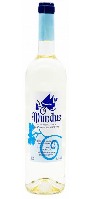 """Вино """"Mundus"""" Branco Leve, 2015"""