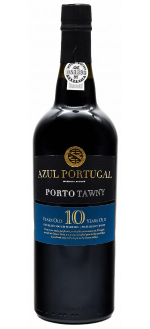 "Портвейн ""Azul Portugal"" 10 Years Old Tawny Porto DOC, 0.75 л"