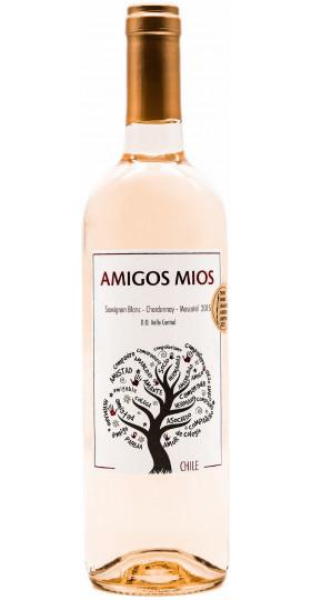 "Вино ""Amigos Mios"" Sauvignon Blanc-Chardonnay-Moscatel"