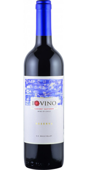 "Вино ""I Love Vino"" Cabernet Sauvignon Reserva, Maule Valley DO"