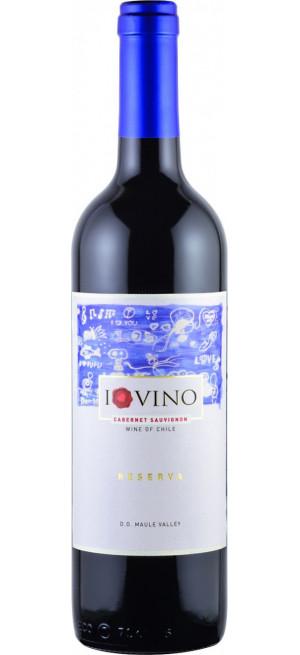 """Вино """"I Love Vino"""" Cabernet Sauvignon Reserva, Maule Valley DO"""