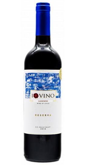 "Вино ""I Love Vino"" Carmenere Reserva, Maule Valley DO"