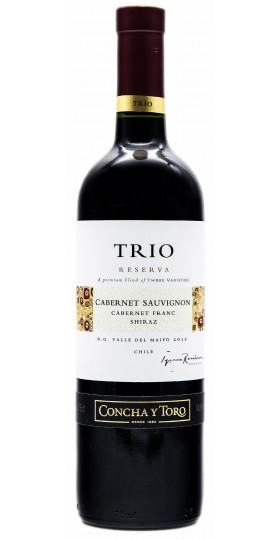 """Вино Concha y Toro, """"Trio Reserva"""" Cabernet Sauvignon"""