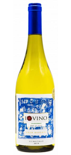 "Вино ""I Love Vino"" Chardonnay Gran Reserva, Maule Valley DO, 2015"
