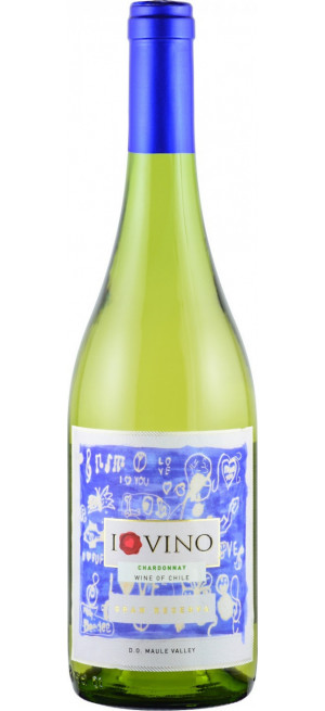 "Вино ""I Love Vino"" Chardonnay Reserva, Maule Valley DO"