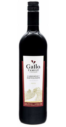 Вино Gallo Family, Cabernet Sauvignon