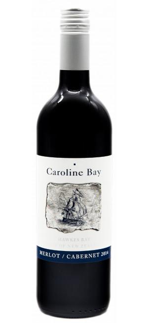 """Вино """"Caroline Bay"""" Merlot-Cabernet, 2016, 0.75 л"""