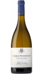 "Вино Thierry Hamelin, Chablis Premier Cru ""Vau Ligneau"", 2019, 0.75 л"