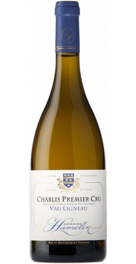 "Вино Thierry Hamelin, Chablis Premier Cru ""Vau Ligneau"", 2012, 0.75 л"