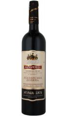 """Вино Алаверды, """"Алазанская Долина"""" Красное, 0.75 л"""