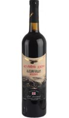 """Вино """"Мегобари"""" Алазанская Долина Красное полусладкое, 0.75 л"""