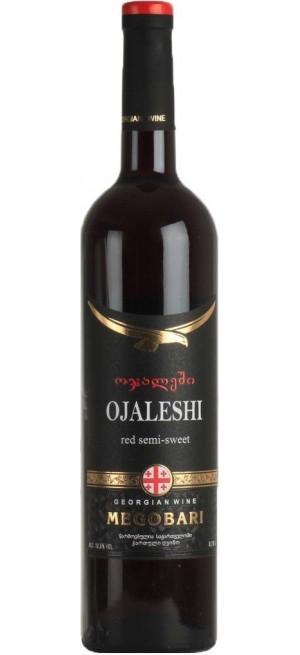"""Вино """"Мегобари"""" Оджалеши, 0.75 л"""