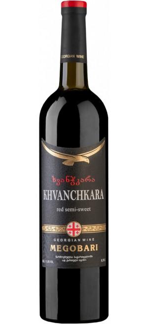 """Вино """"Мегобари"""" Хванчкара, 0.75 л"""