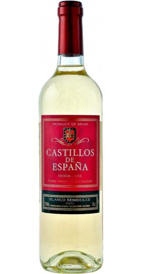 "Вино ""Castillos de Espana"" Blanco Semidulce, 0.75 л"