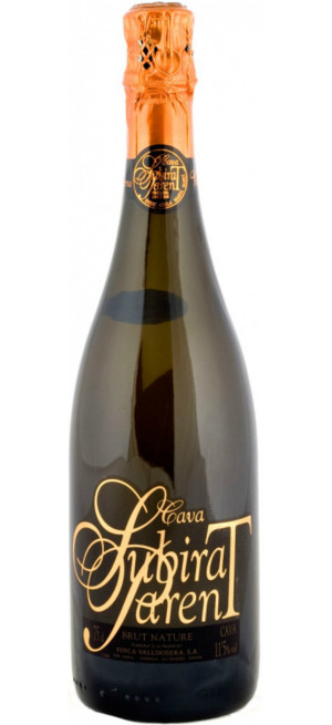 Игристое вино Finca Valldosera, Subirat Parent, Cava Brut Nature DO, 0.75 л