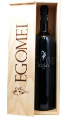 "Вино ""Egomei"", Rioja DOC, wooden box, 1.5 л"