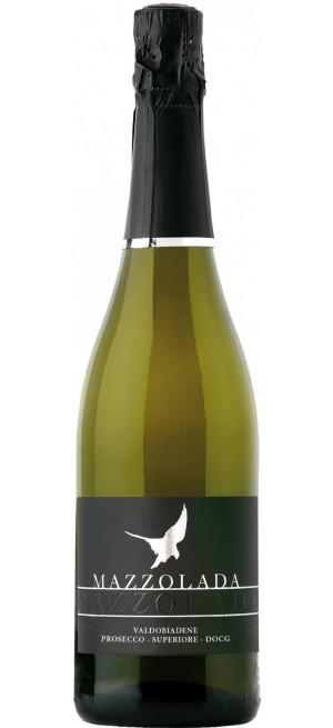 Игристое вино Mazzolada, Prosecco DOCG Superiore Extra Dry, 1.5 л