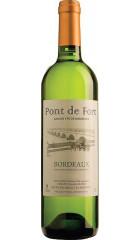 "Вино Charles Yung et Fils, ""Pont de Fort"" Blanc, Bordeaux AOC, 0.75 л"