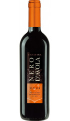 "Вино ""Cavatina"" Nero d'Avola, Sicilia IGT, 0.75 л"