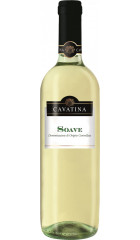 "Вино ""Cavatina"" Soave DOC, 0.75 л"