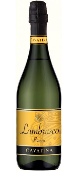 """Игристое вино """"Cavatina"""" Lambrusco Bianco dell'Emilia IGT, 0.75 л"""