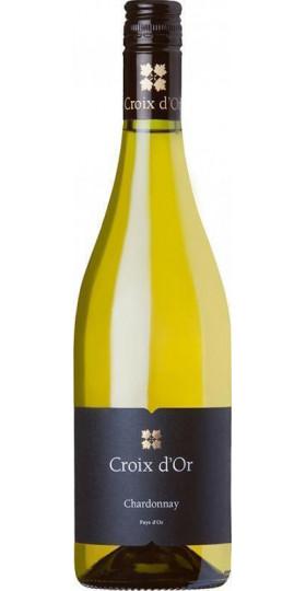 """Вино """"Croix d'Or"""" Chardonnay Sec, Pays d'Oc IGP, 0.75 л"""