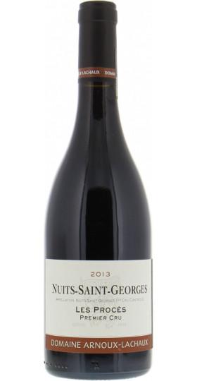 """Вино Domaine Arnoux-Lachaux, Nuits-Saint-Georges Premier Cru """"Les Proces"""" AOC, 2013, 0.75 л"""