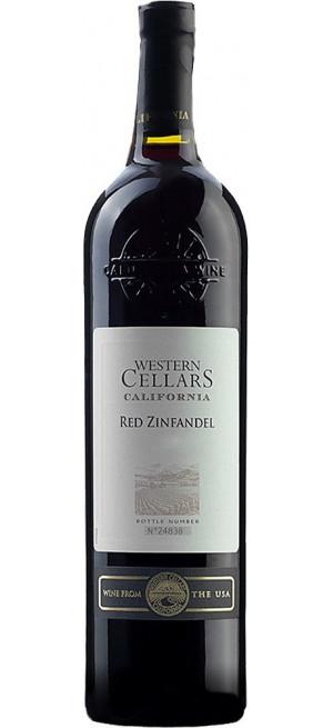 "Вино ""Western Cellars"" Red Zinfandel, 0.75 л"