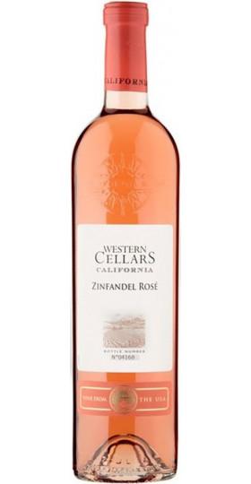 """Вино """"Western Cellars"""" Zinfandel Rose Semi-Sweet, 0.75 л"""