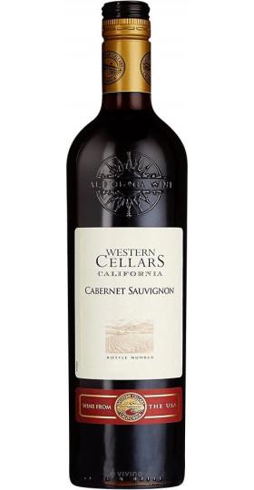 "Вино ""Western Cellars"" Cabernet Sauvignon Semi-Dry, 0.75 л"