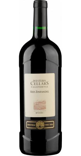 "Вино ""Western Cellars"" Red Zinfandel, 1.5 л"