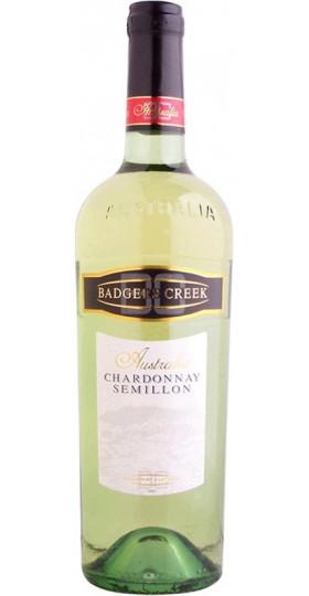 """Вино """"Badgers Creek"""" Chardonnay - Semillon, 0.75 л"""