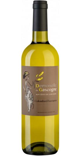 "Вино ""Domain de Menard"", Demoiselle de Gascogne Colombard-Sauvignon, Cotes de Gascogne IGP, 0.75 л"