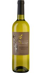 "Вино ""Domain de Menard"", Demoiselle de Gascogne Colombard-Sauvignon-Gros Manseng, Cotes de Gascogne IGP, 0.75 л"