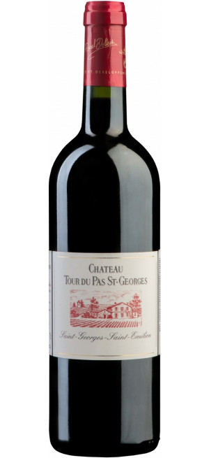 Вино Chateau Tour du Pas Saint-Georges, Saint-Emilion AOC, 0.375 л