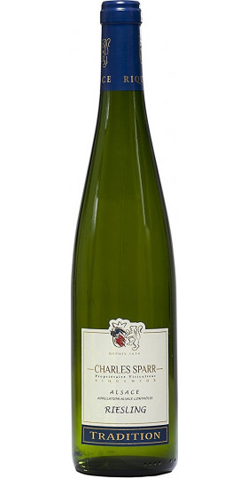Вино Charles Sparr, Riesling Tradition, Alsace AOC, 0.75 л