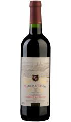 """Вино """"Marquis d'Orlean"""" Cabernet Sauvignon Moelleux, Pays d'Oc IGP, 0.75 л"""
