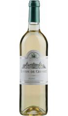 "Вино ""Baron de Cresset"" Blanc Demi-Sec, 0.75 л"
