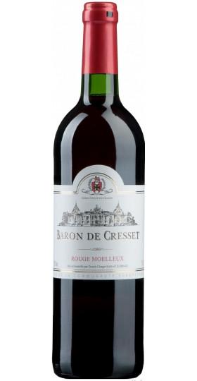"Вино ""Baron de Cresset"" Rouge Moelleux, 0.75 л"