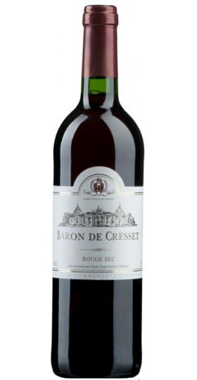"Вино ""Baron de Cresset"" Rouge Sec, 0.75 л"