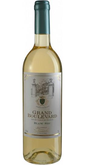 "Вино ""Grand Boulevard"" Blanc Sec, 0.75 л"