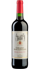 """Вино """"Grand Boulevard"""" Rouge Demi Sec, 0.75 л"""
