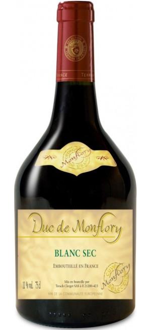"""Вино """"Duc de Monflory"""" Blanc Sec, 0.75 л"""