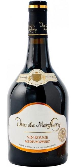 """Вино """"Duc de Monflory"""" Rouge Moelleux, 0.75 л"""