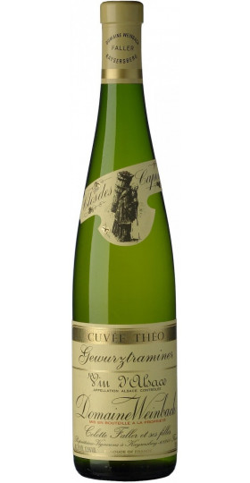 """Вино Domaine Weinbach, Gewurztraminer """"Cuvee Theo"""", 2018, 375 мл"""