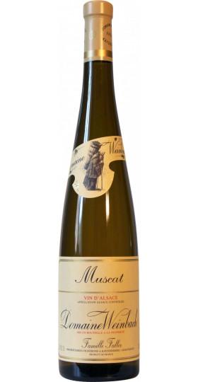 Вино Domaine Weinbach, Muscat, 2018, 0.75 л