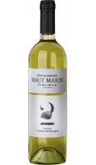"Вино Haut Marin, ""Amande"" Colombard & Sauvignon, Cotes de Gascogne IGP, 0.75 л"