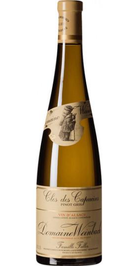 "Вино Domaine Weinbach, Pinot Gris ""Clos des Capucins"", 2018, 0.375 л"