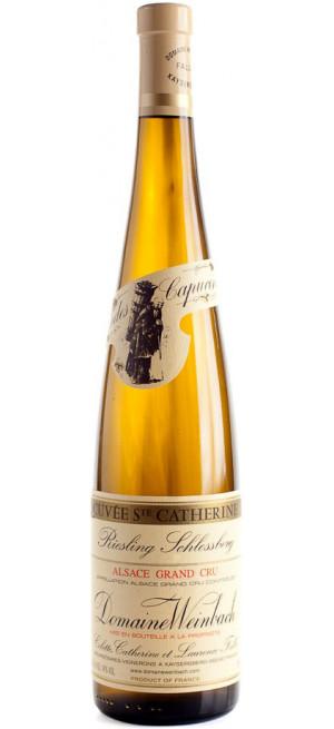 "Вино Domaine Weinbach, Riesling Grand Cru Schlossberg ""Cuvee Sainte Catherine"", 2018, 0.75 л"