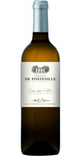 "Вино ""Chateau de Fontenille"" Blanc, Bordeaux AOC, 2018, 0.75 л"